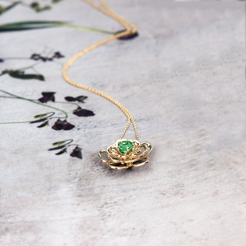 """Emerald flower"""